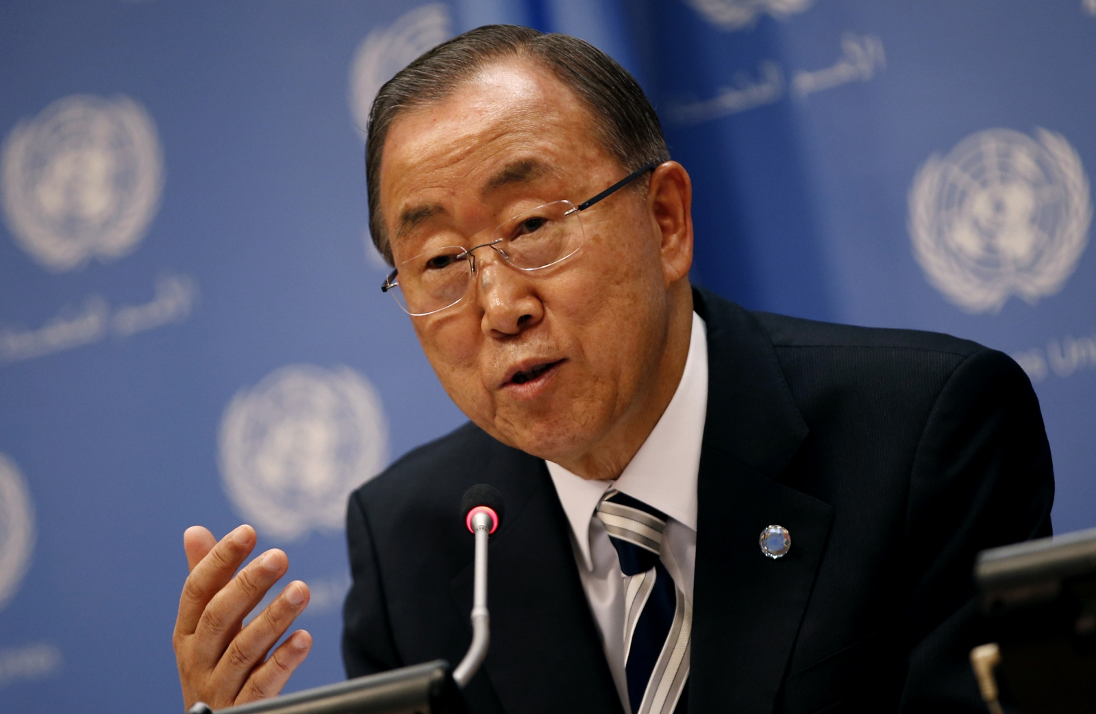 بان كي مون غاضب من مجلس الأمن بسبب المغرب