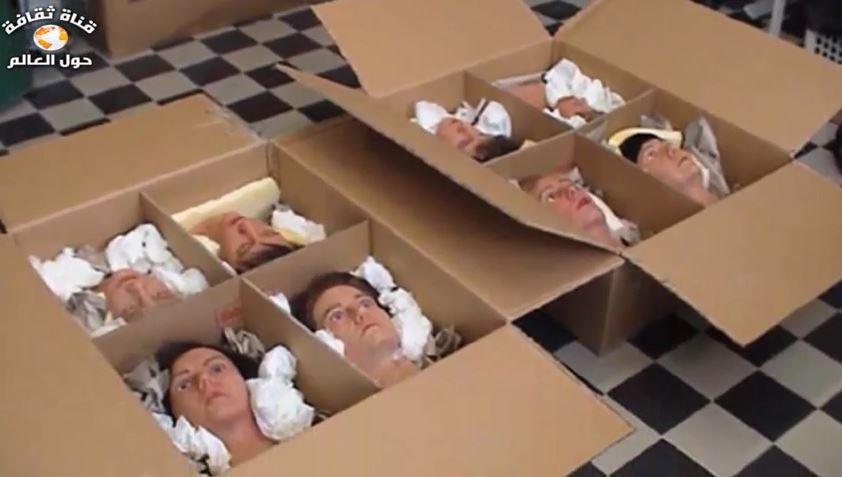 فيديو لأغرب وأشهر حالات تهريب البشر على أطلاق