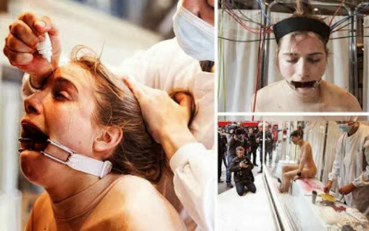 بالفيديو: لماذا يتم تعذيب هذه المرأة بطريقة بشعة؟