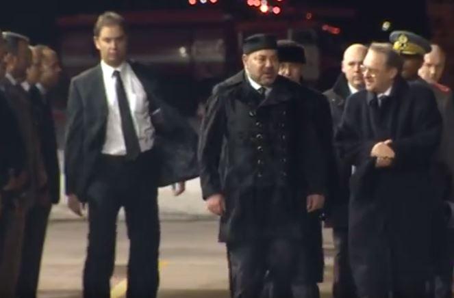 الجعايدي الحارس الشخصي للملك محمد السادس يظهر من جديد