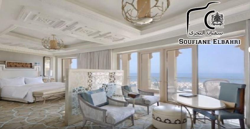 شاهد الفندق الفاخر الذي يقيم فيه الملك محمد السادس في هولندا