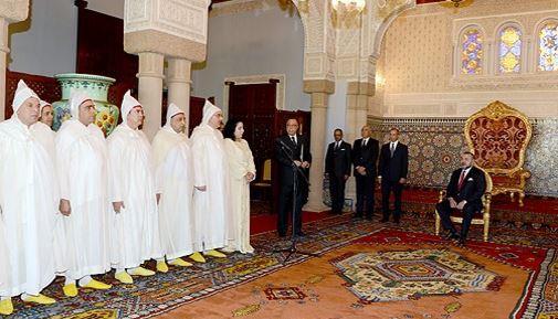 الرباط. الملك محمد السادس يستقبل واليا وعددا من العمال الجدد