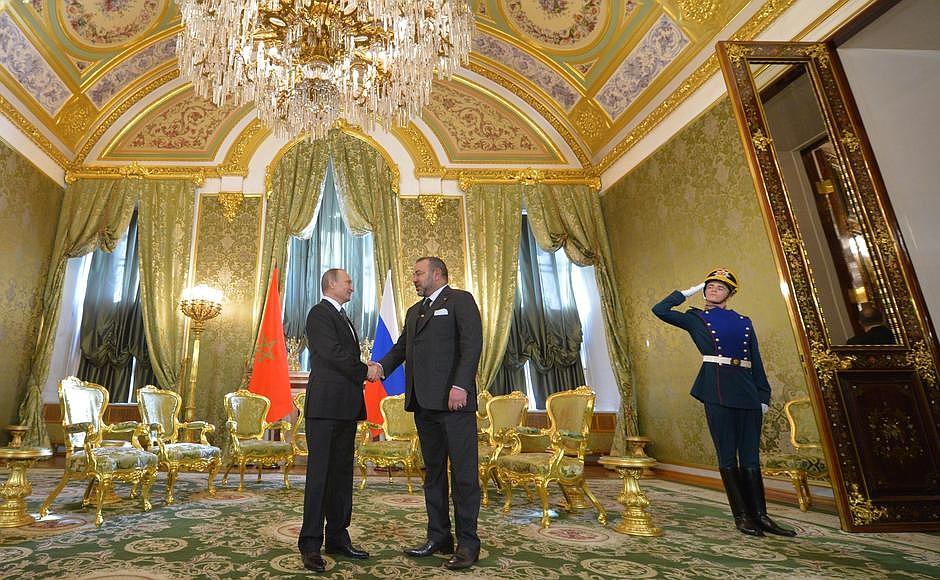 بالصور. روسيا تدعم المغرب في قضية الصحراء المغربية