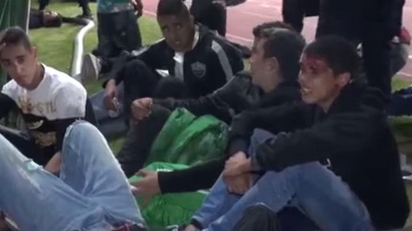 فيديو: ضحايا شغب مباراة الرجاء والريف الحسيمي