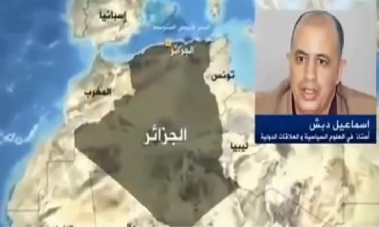 بالفيديو: جزائري يتهم الجزيرة بالوقوف مع المغرب