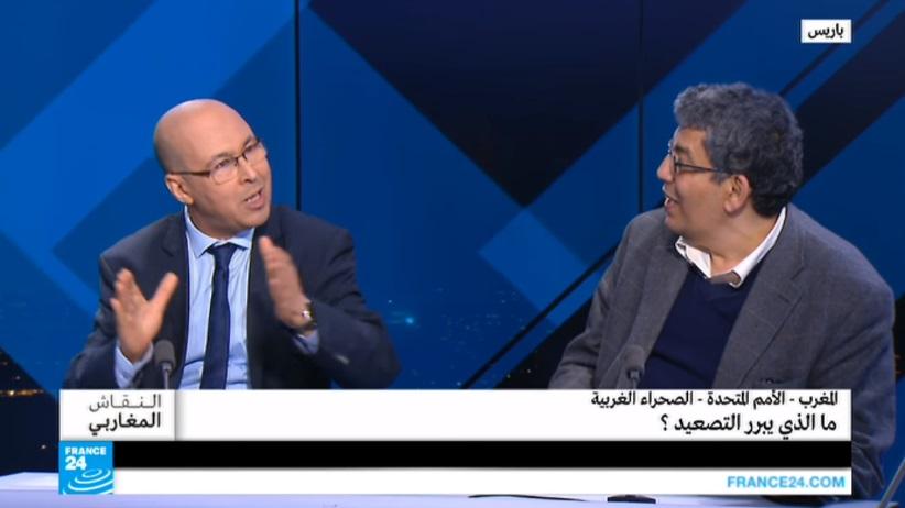 بالفيديو: محلل تونسي يؤدب جزائري بسبب الصحراء المغربية