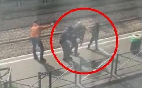 بالفيديو: الشرطة البلجيكية تقتل انتحاريا في بروكسيل وطفلة صغيرة بجواره