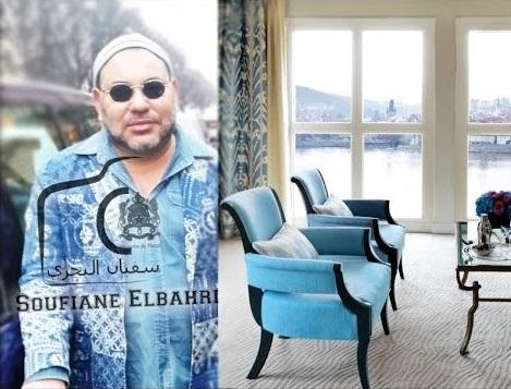 فيديو: الفندق الذي يقيم فيه الملك محمد السادس من الداخل