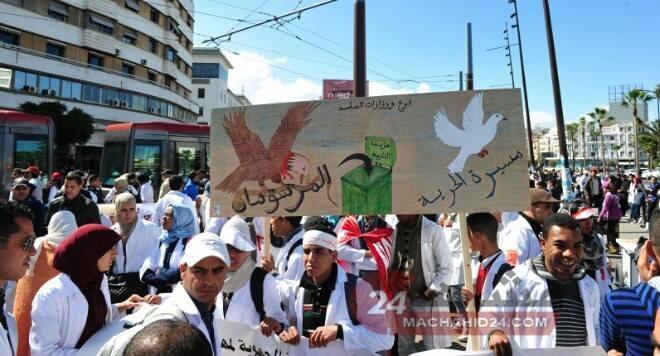 الأساتذة المتدربون من البيضاء: نرفض سياسة