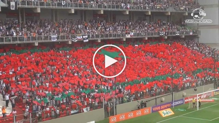 بالفيديو: علم المغرب بمدرجات ملعب برازيلي