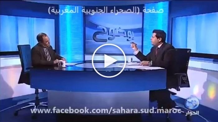 بالفيديو: مذيع تونسي يفحم ويربك ممثل لجبهة البوليساريو على المباشر
