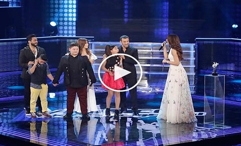 بالفيديو: لحظة الإعلان عن الفائز في الموسم الاول من The Voice Kids