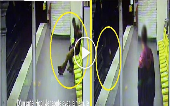 بالفيديو: عندما ينقذ لص ضحيته من الموت