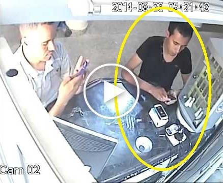 بالفيديو: لص يخدع صاحب محل بمكناس ويسرق هاتفا بطريقة عجيبة