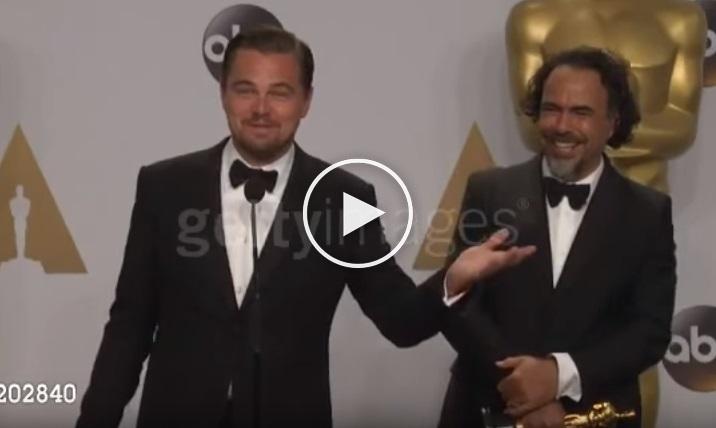 بالفيديو: سؤال الصحفية المصرية لليوناردو الذي أثار سخرية الجميع