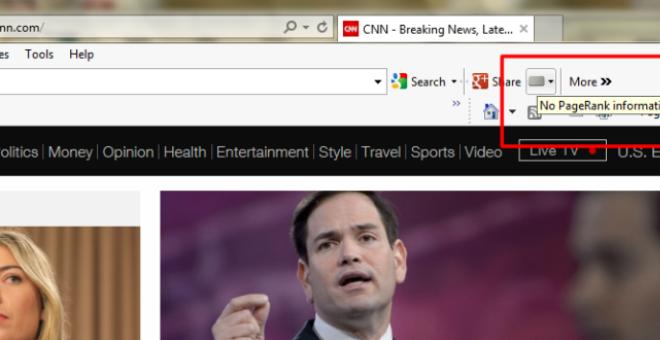 غوغل تحذف PageRank من شريط Google Toolbar