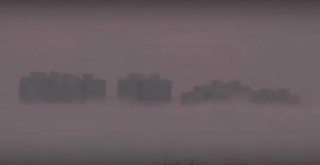 شاهد.. مدينة بين السحب في سماء الصين