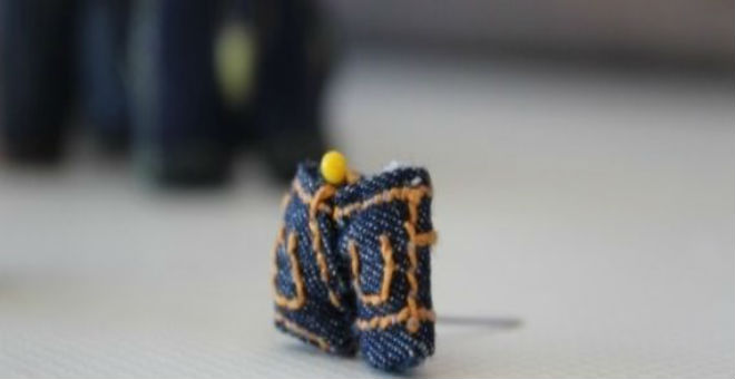 شاب تركي ينجح في خياطة أصغر سروال في العالم