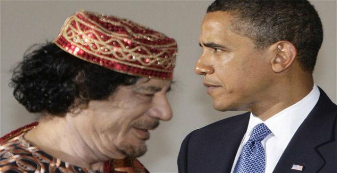 أوباما يخلق الحيرة مجددا بشأن حملة الناتو على ليبيا