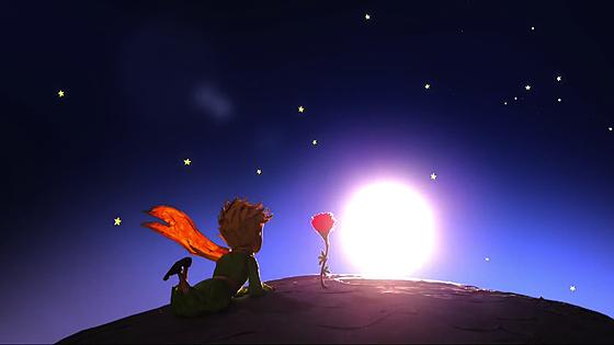 الأمير الصغير والوردة