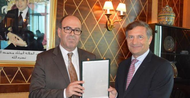 بنشماس يؤكد ضرورة توطيد التعاون مع جمهورية سلوفينيا