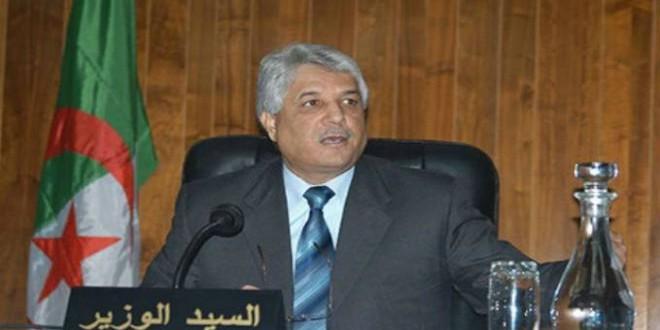 وزير العدل الجزائري