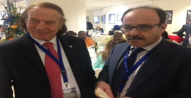 العماري يستقدم الاتحاد العالمي للمقاولات الصغرى والمتوسطة إلى طنجة