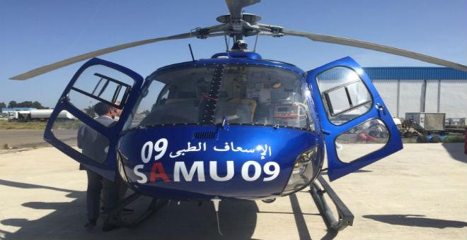 المروحية الطبية تنقذ شابا  مغربيا في حالة صحية خطيرة