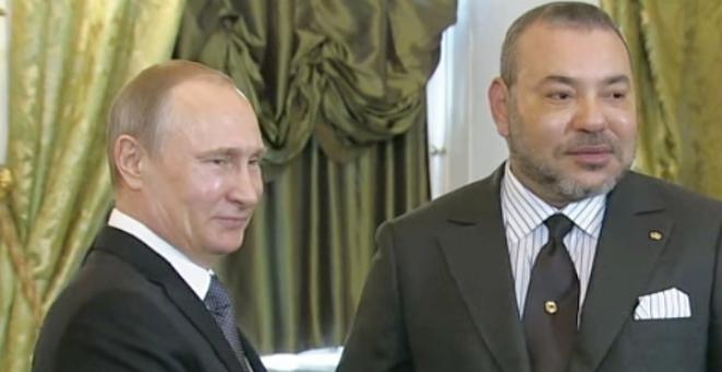 الملك محمد السادس يدعو فلاديمير بوتين لزيارة المغرب