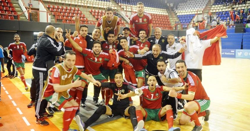 المنتخب يفوز على ليبيا و يتأهل إلى دور النصف