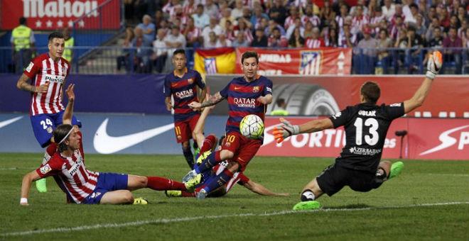 مؤشرات ترجح كفة برشلونة للفوز على الأتلتيكو