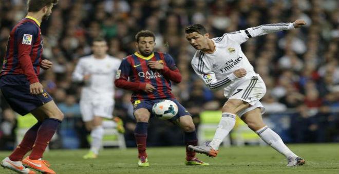رونالدو يقود ريال مدريد للفوز على برشلونة في الكلاسيكو