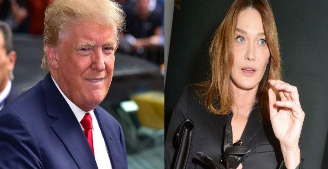 هل كان دونالد ترامب حقا على علاقة مع كارلا بروني ؟