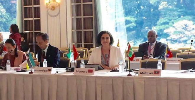 البرلمانية لبنى أمحير تبرز في اليابان جهود المغرب لإدماج الشباب في التنمية