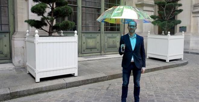 مظلة ذكية تُخبرك بهطول المطر قبل 15 دقيقة