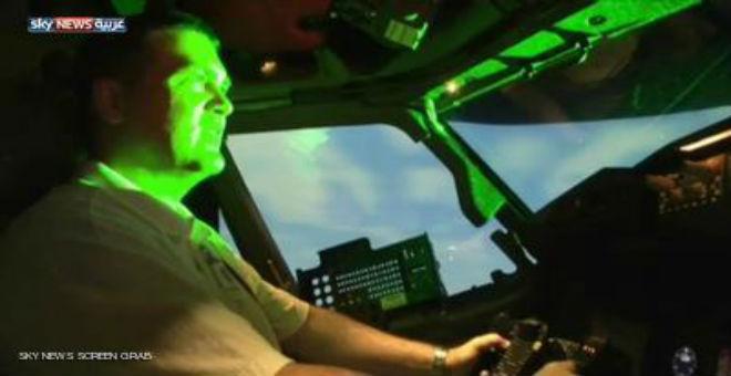 الليزر .. خطر يهدد الطائرات