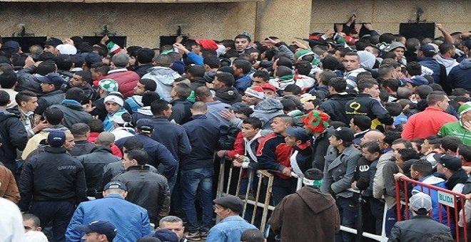 فوضى و عنف بين الجماهير قبل نهائي كأس الجزائر