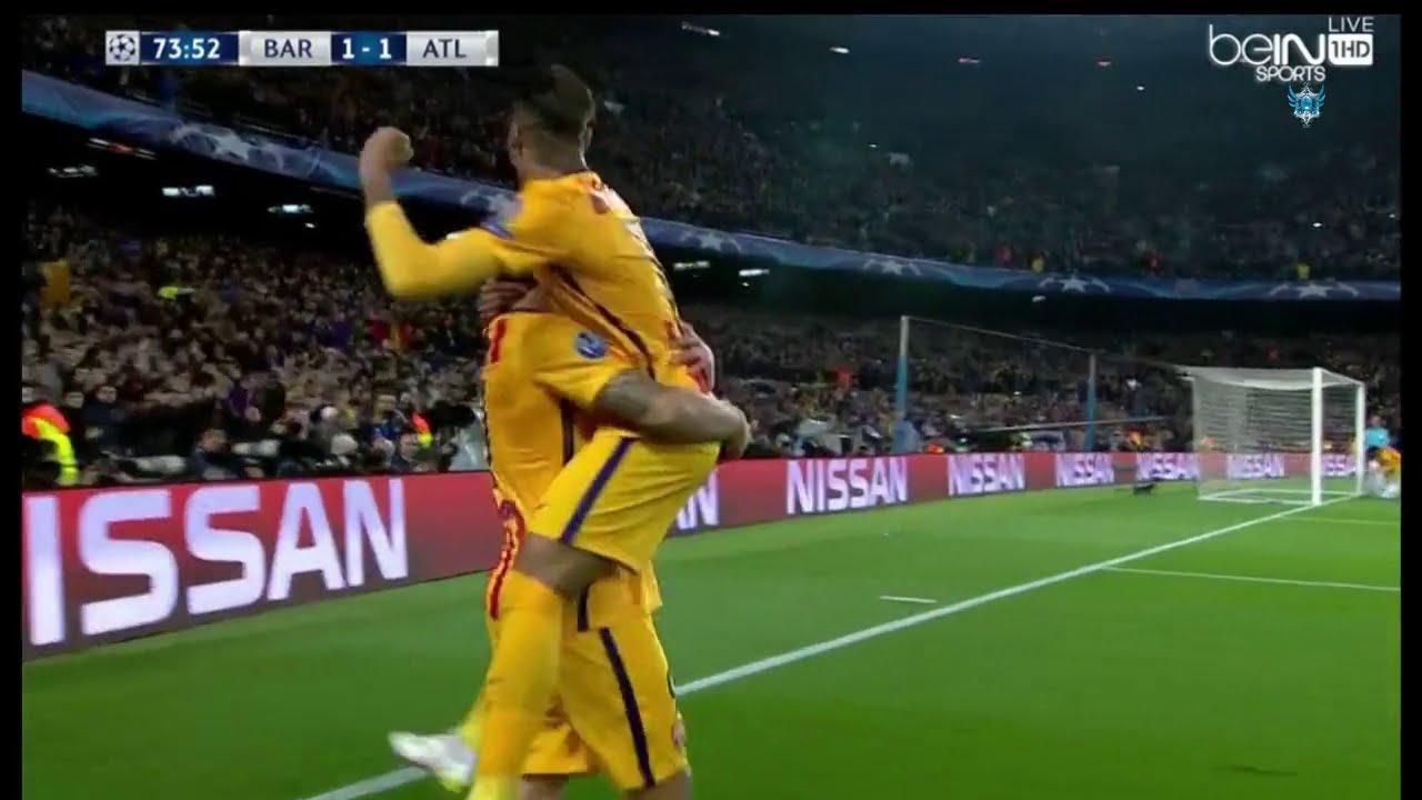 بالفيديو.. فوز برشلونة الصعب على الأتلتيكو