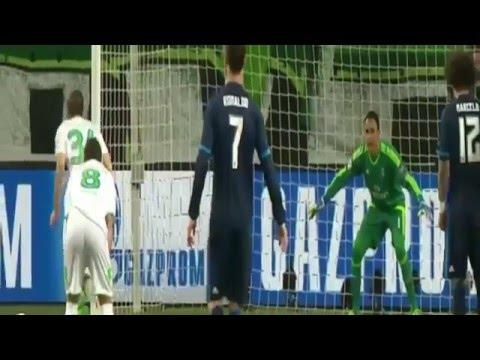 بالفيديو.. خسارة ريال مدريد أمام فولفسبورغ