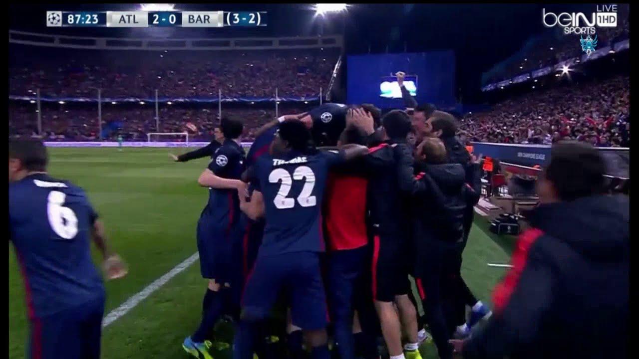 بالفيديو..أهداف اتليتكو مدريد في مرمى برشلونة