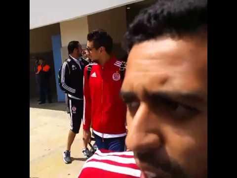 بالفيديو.. استقبال حار للاعبي الوداد البيضاوي في المطار