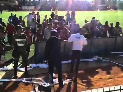 بالفيديو.. احتفالات لاعبي قصبة تادلة بالصعود
