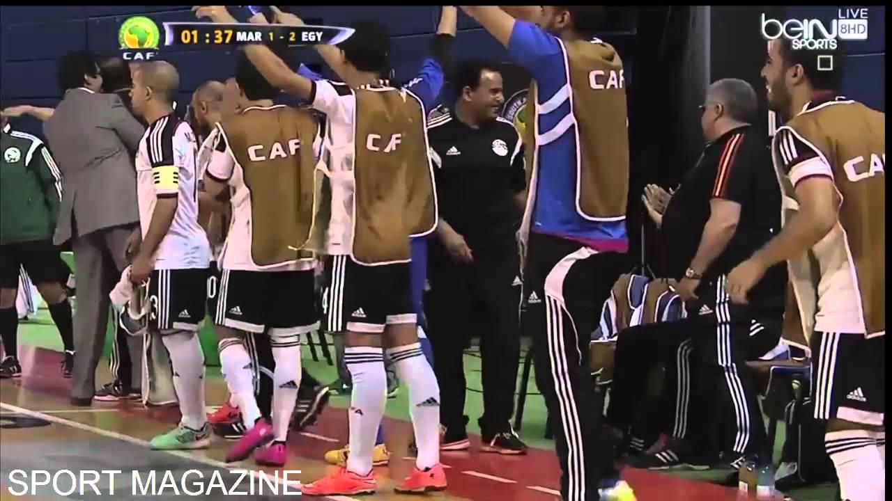 بالفيديو.. فوز المنتخب على مصر في النهائي