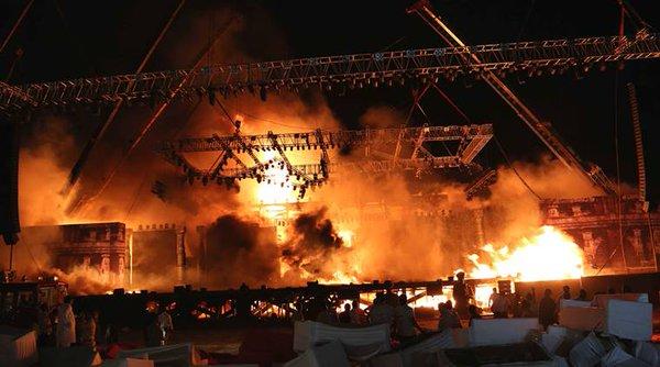 الهند: ارتفاع حصيلة حريق معبد إلى 105 قتلى و350 مصابا