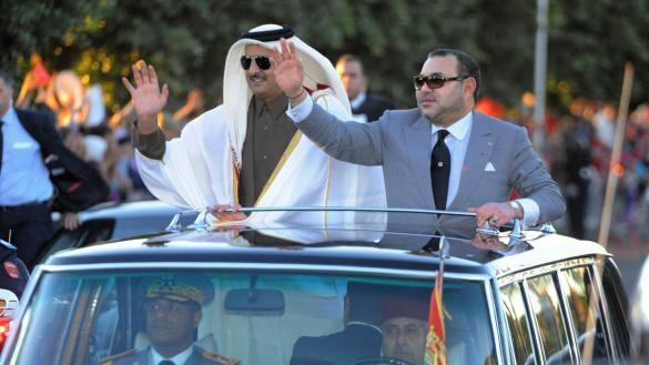 الملك يتوجه لقطر بعد زيارة مميزة للبحرين