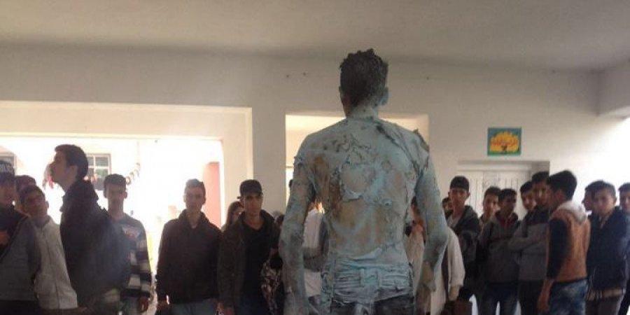 واد أمليل. تلميذ يحرق نفسه احتجاجا على حرمانه من شهادة مدرسية