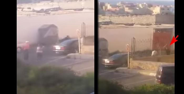 بالفيديو.. الشرطة تضطر لإطلاق 3 رصاصات لاعتقال مجرم بالرباط