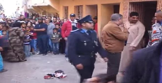 بالفيديو.. لحظة اعتقال شخص حاول اغتصاب طفلة بمدينة سطات