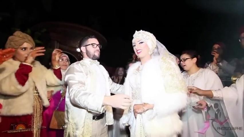 فيديو .. عرس صفاء و محمد كوبل مدينة مكناس المشارك ببرنامج لالة العروسة