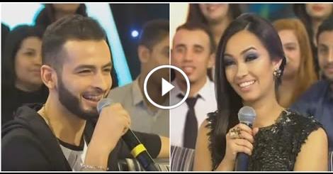 بالفيديو .. مذيعة برنامج تغريدة تحرج المغني أمينوكس